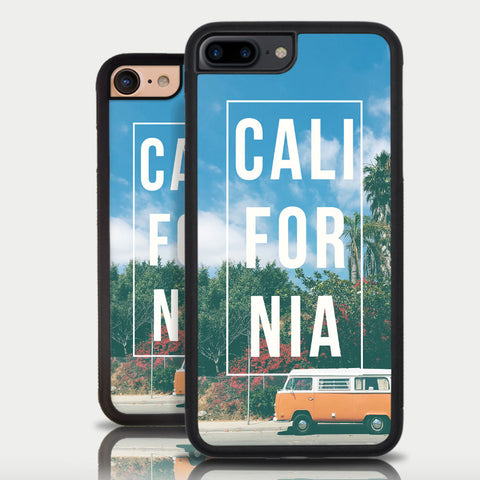 California Palm Trees Iphone 6 Sunset Iphone 6 Plus Boho Hippie San Francisco Iphone 6S Plus Iphone 6S Iphone 5S Iphone SE Iphone 5C VW Bus