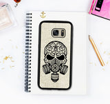 Galaxy S7 Edge Skull Case Tribal Sugar Skull Galaxy S7 Case Steampunk Galaxy S6 Edge Plus Galaxy S6 Edge Case Galaxy S5 Case Tribal Tattoo