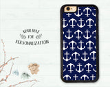 Iphone 6S Iphone 6S Plus Case Anchor Pattern Iphone 6 Nautical Sailor Iphone 7 Plus Iphone 7 Iphone 6 Plus Gift Iphone 8 Iphone X Iphone 10