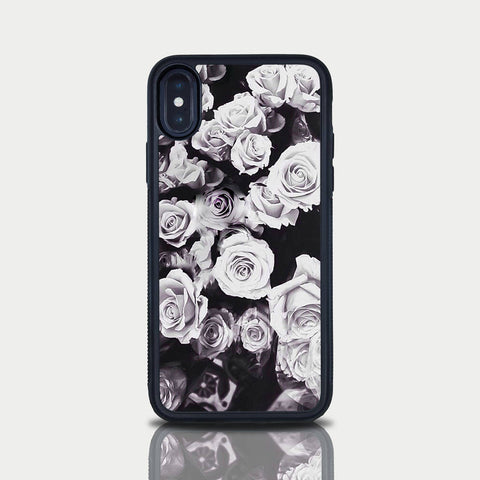Iphone 7 Case Iphone 7 Roses Case Iphone 7 iPhone 8 Case Rose Pattern Flower Cute Girly Case iPhone 7 iPhone 10 X Case Lady Diana Rose Gift