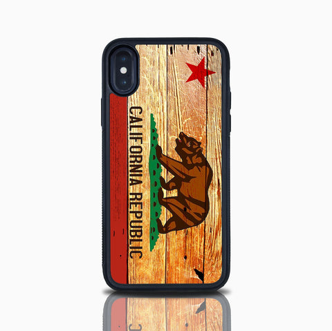 California Republic Iphone X Case Iphone 8 Plus California Bear Flag Iphone 8 Case Iphone Xs Iphone Xr Case Iphone 7 Iphone 7 Plus Iphone 10