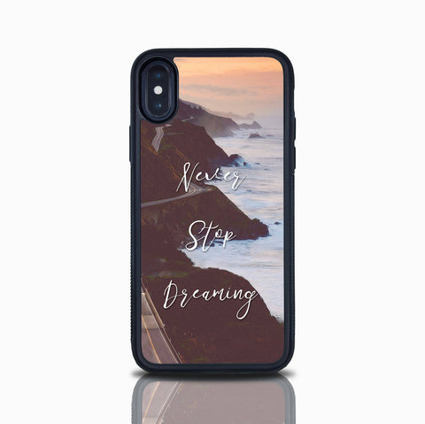 Cute Iphone SE Quote Case Iphone 6 Inspirational Quote Ocean Iphone 5S Case Iphone X Case Gift For Her Valentines Day Iphone 8 Iphone 7 Plus
