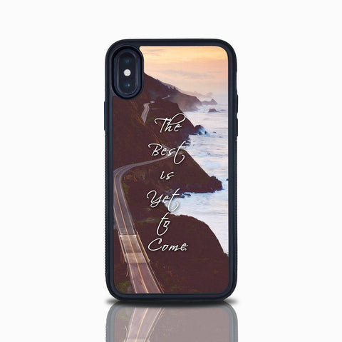 Iphone X Case The Best Is Yet To Come Iphone 7 Inspirational Quote Iphone 8 Iphone 8 Plus Iphone 7 Plus  Girly Case Iphone 6S Ocean Beach