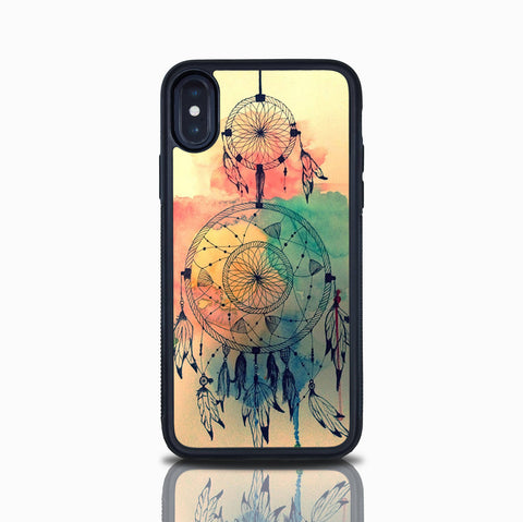 Dream Catcher Iphone X Case Tribal Iphone 8 Plus Dreamcatcher Iphone 8 Case Iphone 7 Plus Iphone 7 Case Feathers Indian Art Iphone 6S Plus