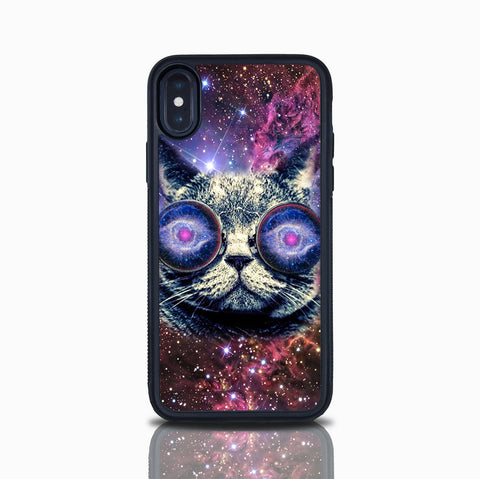Iphone SE Case Cat In the Galaxy Iphone 5S Nebula Outer Space Galactic Iphone Space Kitten Cat Lovers Iphone X Iphone 7 Iphone 8 Iphone 6S