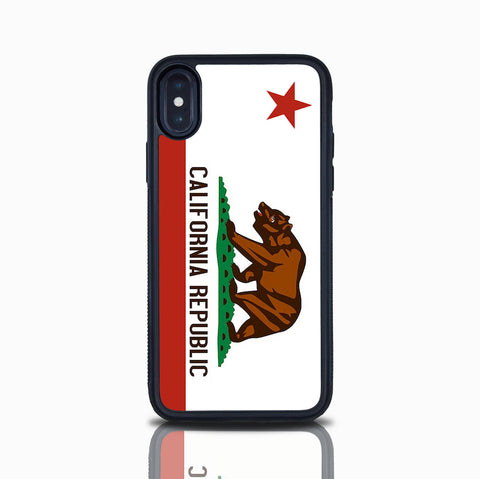 Iphone X Case California Republic Flag iPhone 6S Iphone 7 Iphone 7 Plus Iphone 8 Iphone 8 Plus Cali Bear Case Iphone 6 Plus Iphone 5 Case