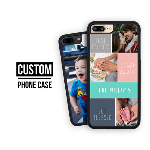 Custom Iphone 7 Plus Case, Personalized Iphone 8 Plus Photo Gift Iphone X Case Gift For Her Gift For Him Iphone 7 Case Custom Photo Iphone 8