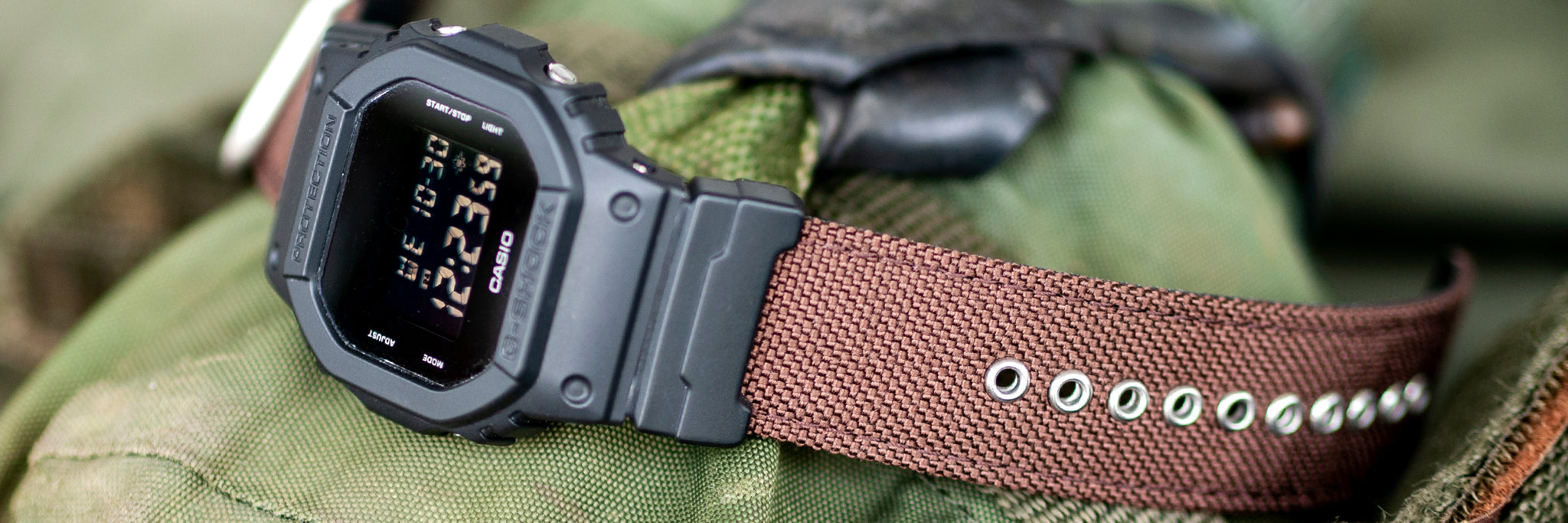 vario single pass cordura watch strap