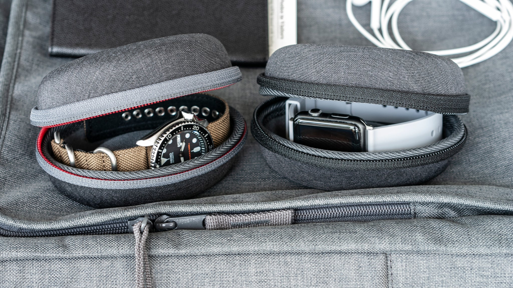 vario watch travel case for mechanical quartz and smart watch