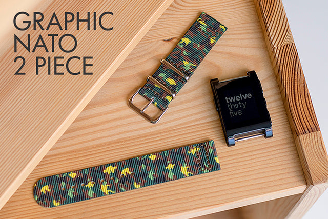 vario graphic nato 2 piece strap