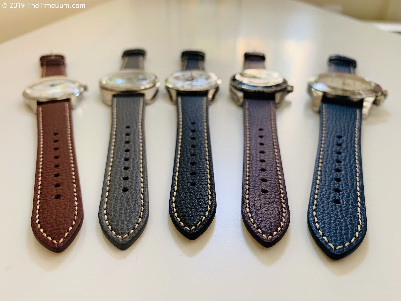 vario italian leather watch straps