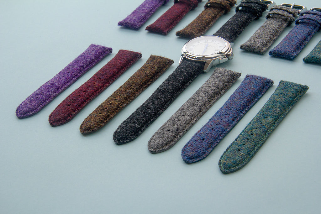vario harris tweed watch strap