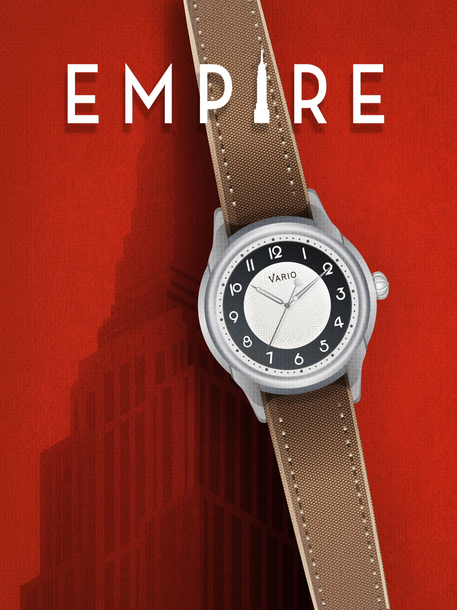 affiche art deo empire vario