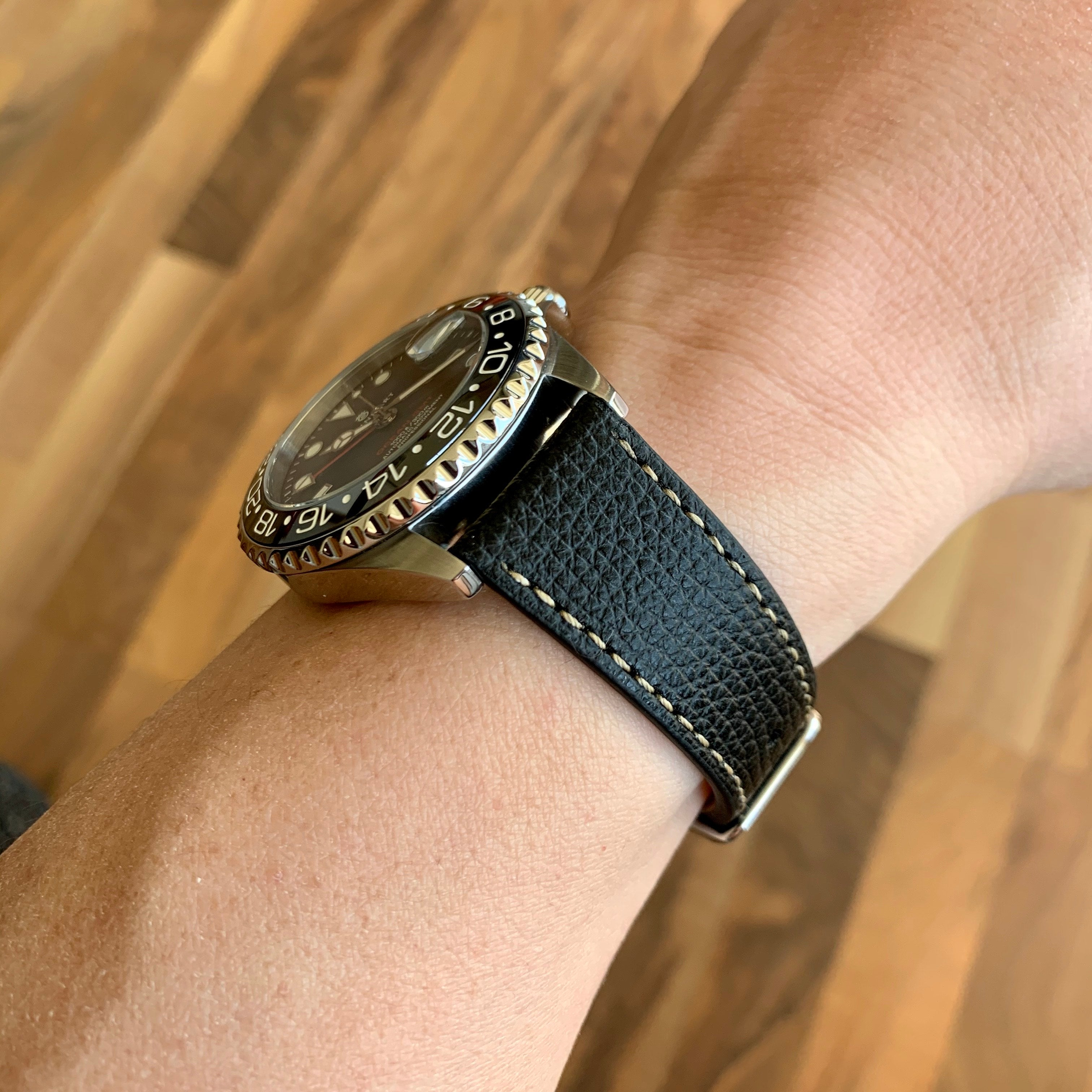 vario leather watch strap