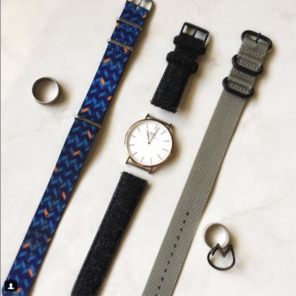 dw watch with vario watch straps