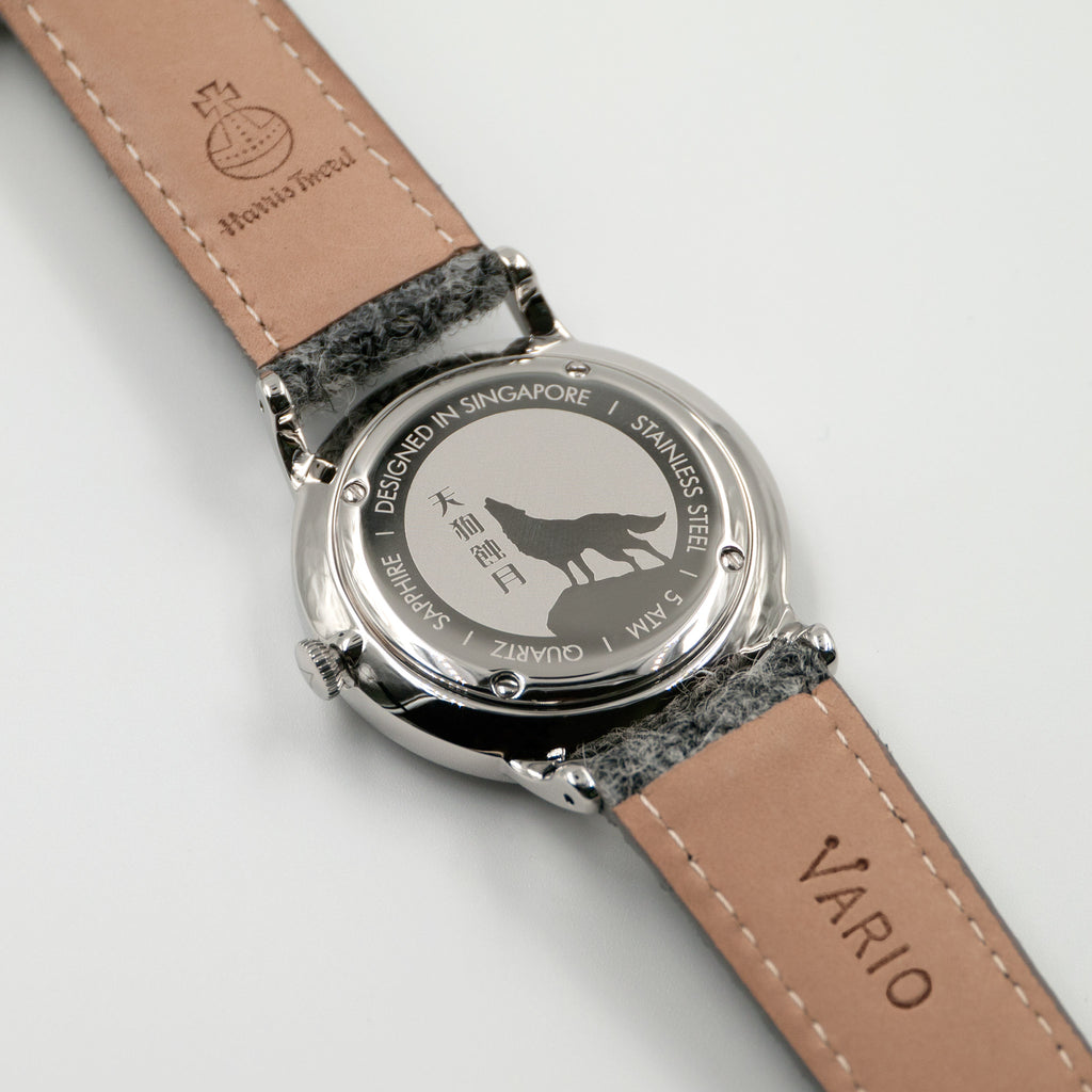 vario 38mm eclipse dress watch caseback