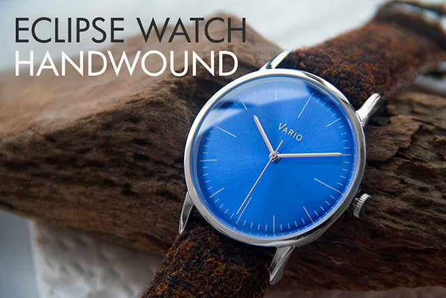 vario eclipse handwound dress watch