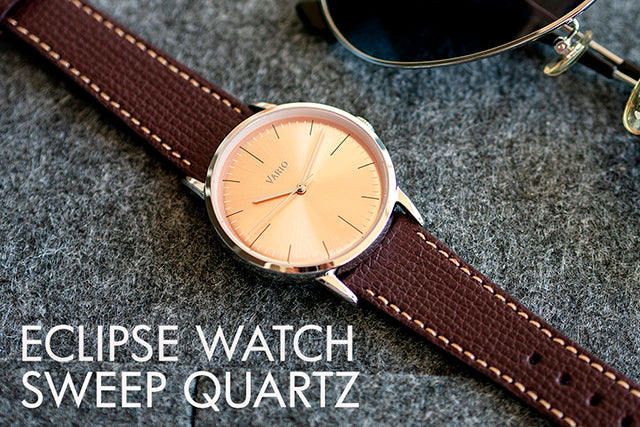 vario eclipse watch sweeping quartz
