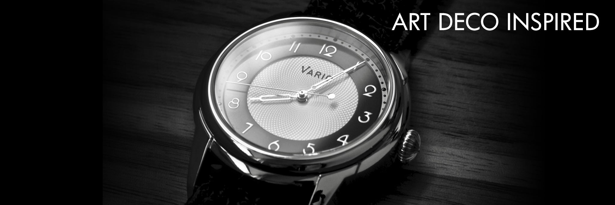 vario empire art deco watch