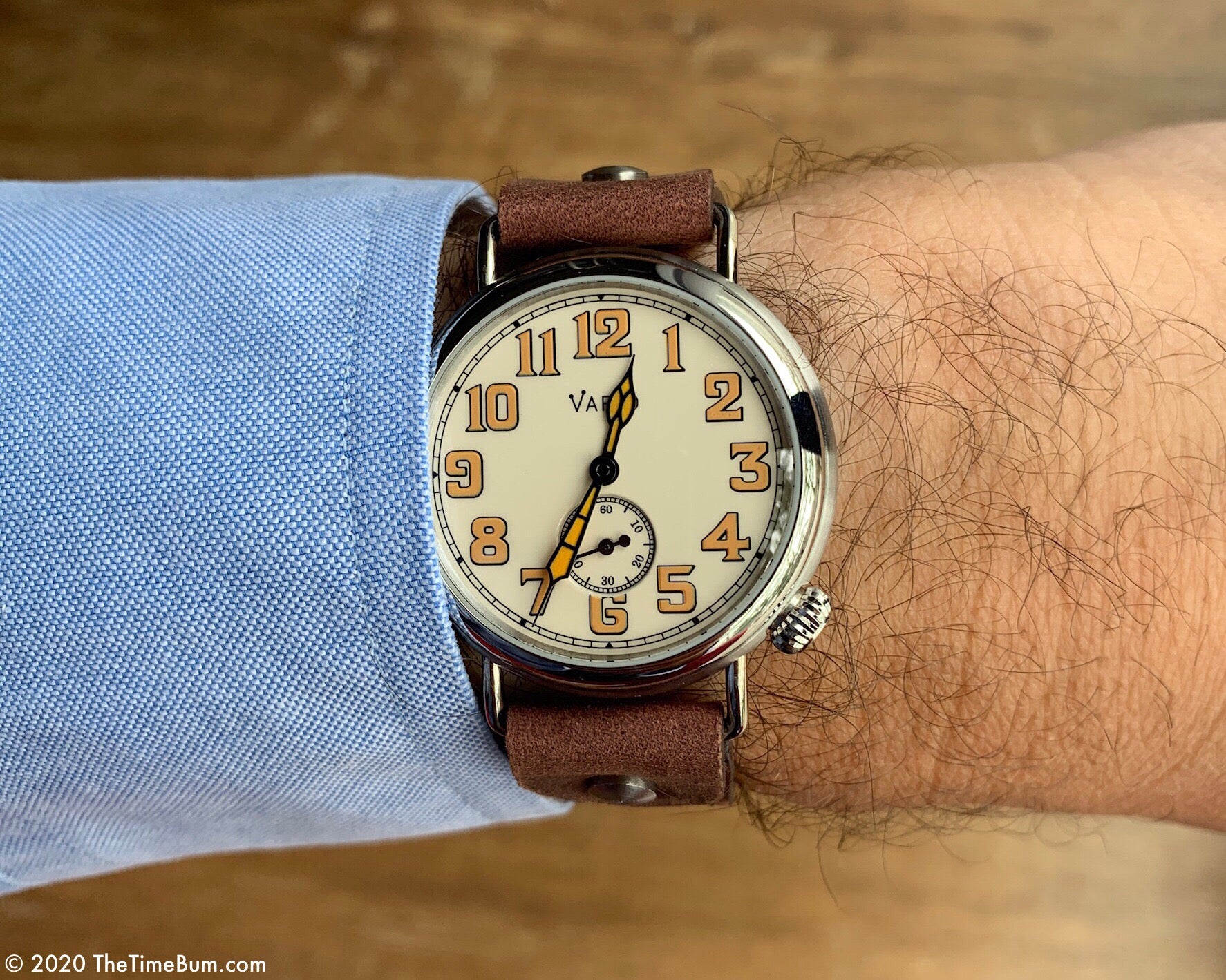 vario 1918 trench field watch