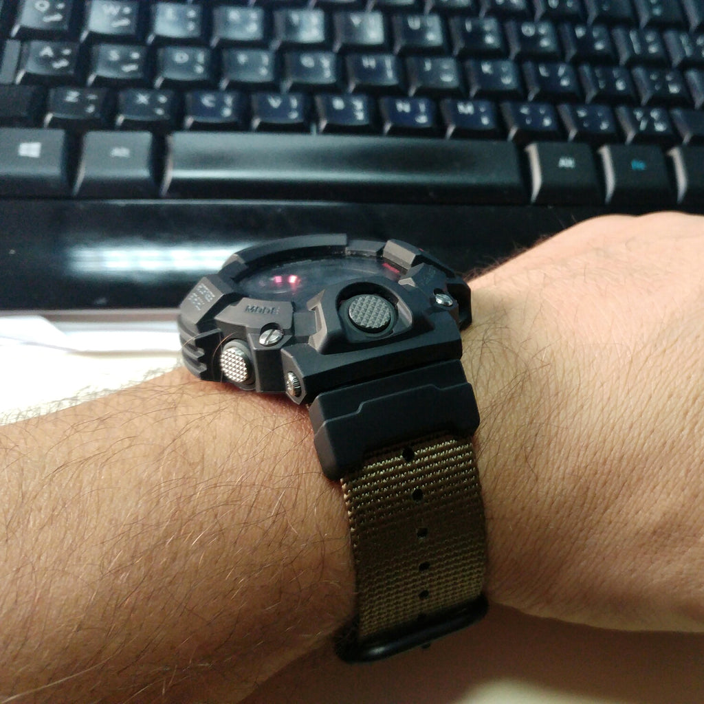 G-Shock Rangeman 9400 on ballistic nylon strap by #varioeveryday member Georges