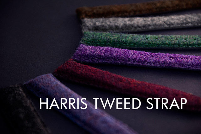 harris tweed strap
