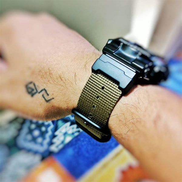 G-Shock watch on Vario Nato kit strap by #varioeveryday member @iamerwindc