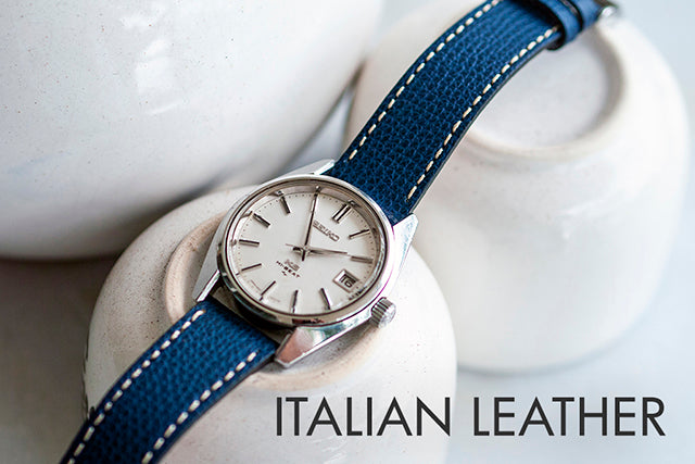 vario italian leather watch strap