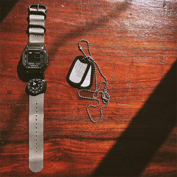 gshock with vario watch strap