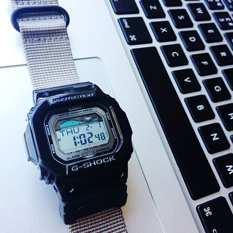 G-Shock DW5600 on Vario Ballistic Nylon by #varioeveryday member Patrick