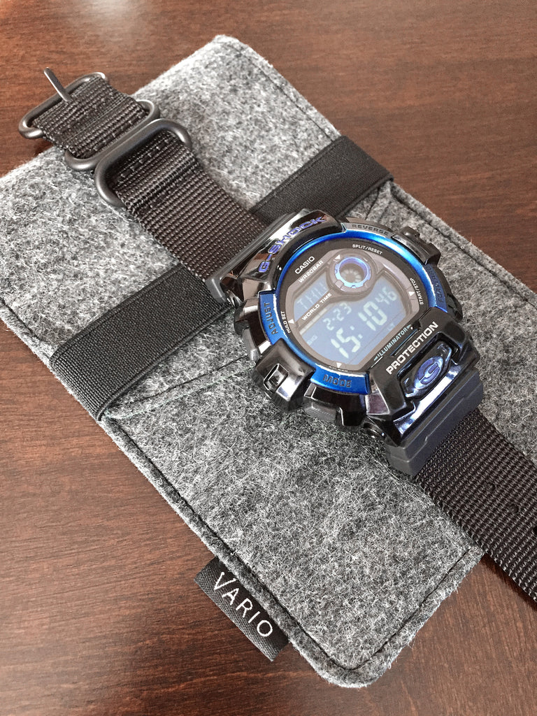 casio gshock g8900a with vario adapter and nato strap