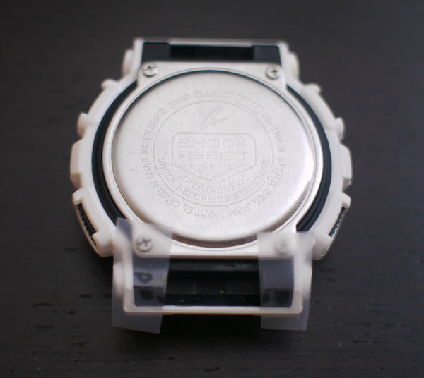 scotch tape to protect your g shock when installing the nato adapter
