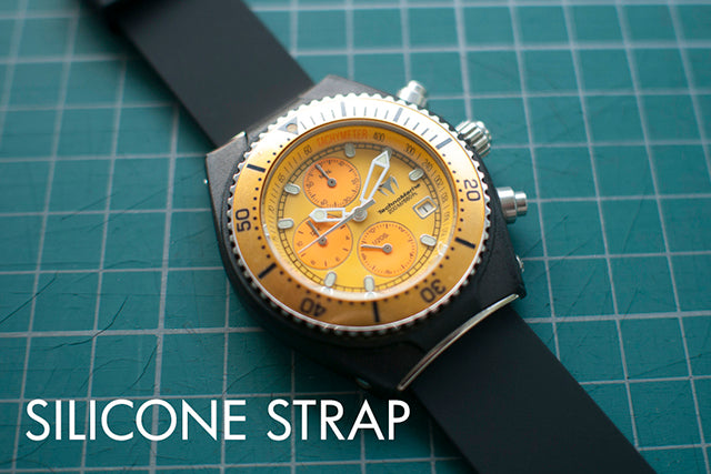 vario silicone watch strap