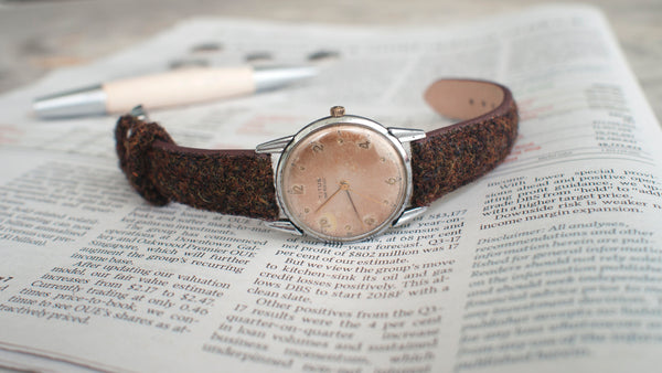 vario harris tweed strap