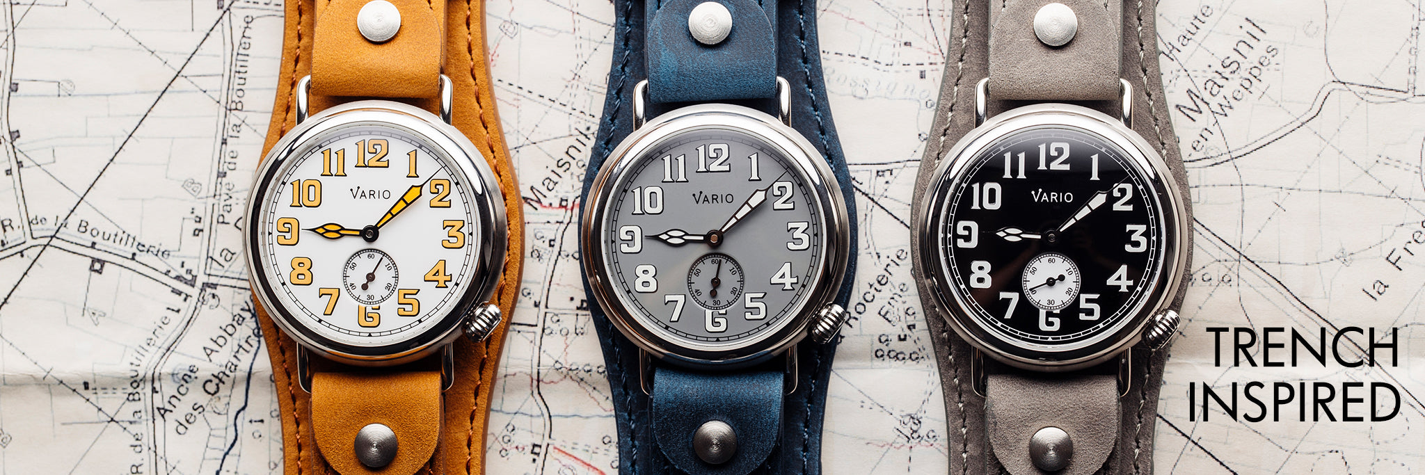 vario trench and medic watch
