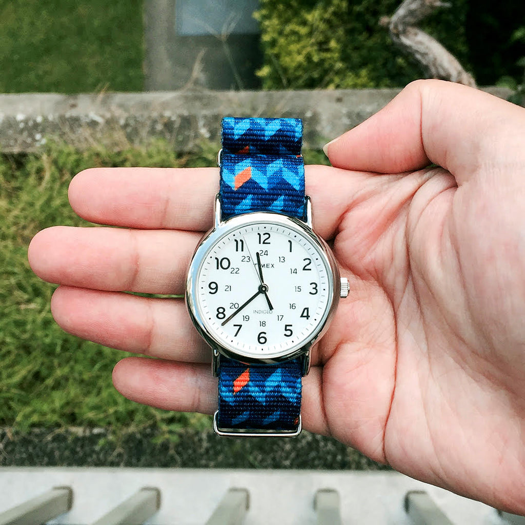 timex weekender with vario graphic nato strap