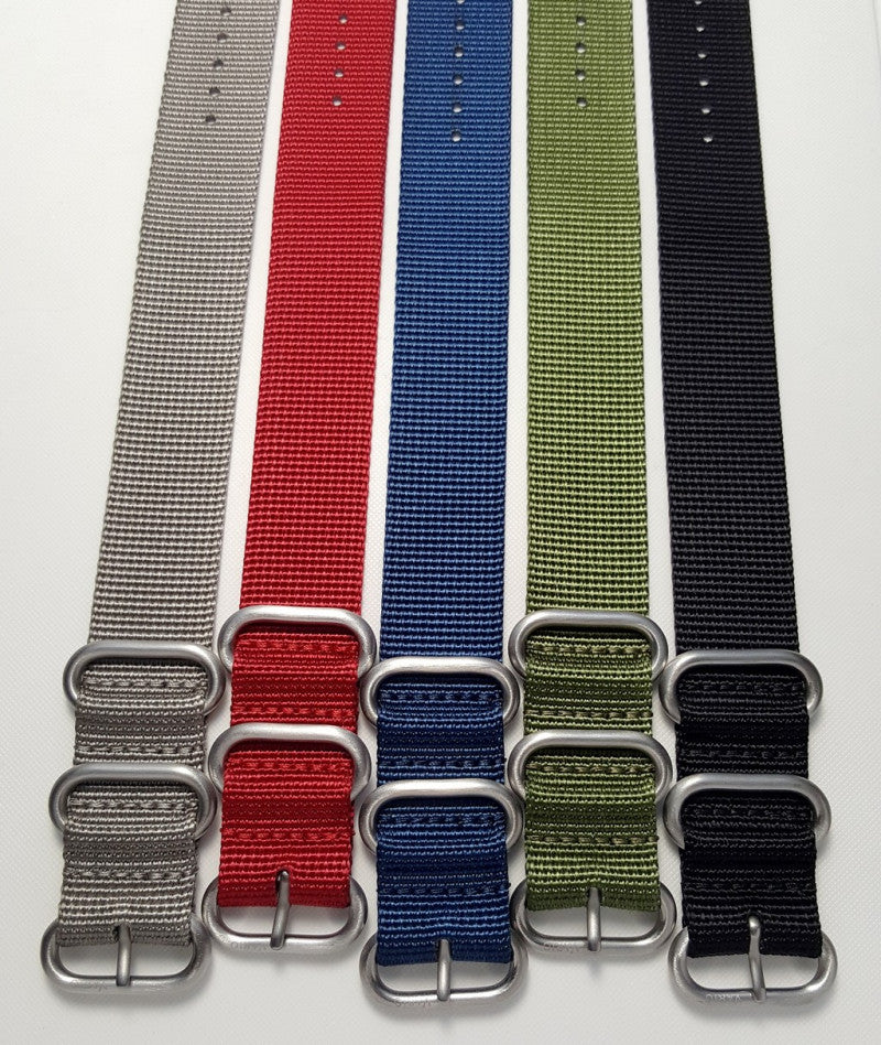 vario ballistic nylon watch strap review