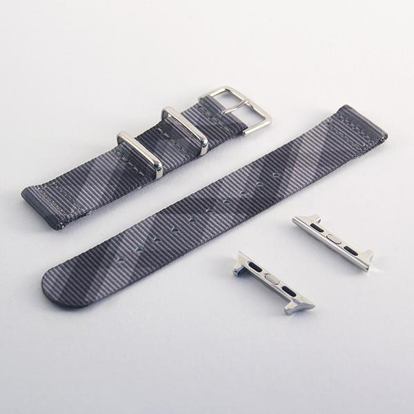 vario mono plaid nato strap for iwatch