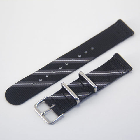 vario black razor 2 piece nato strap band