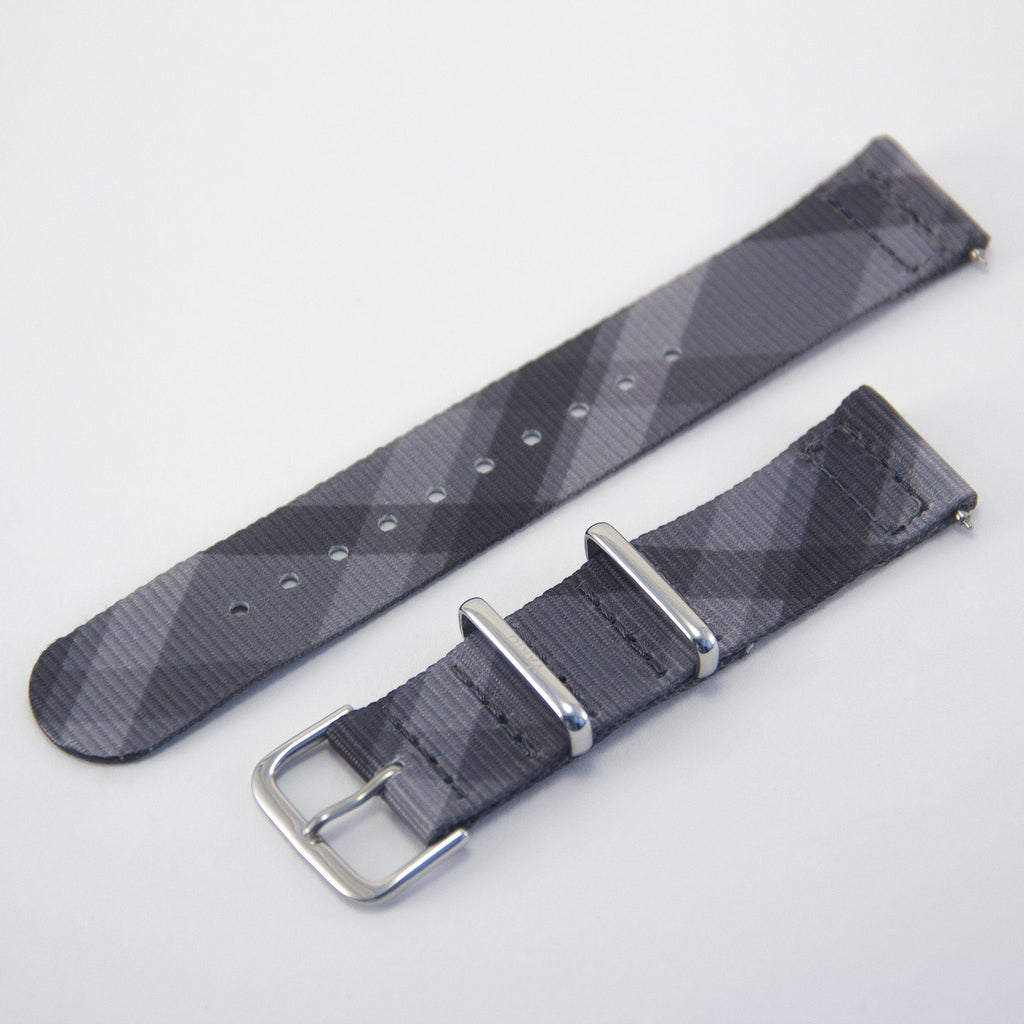vario mono plaid 2 piece nato strap