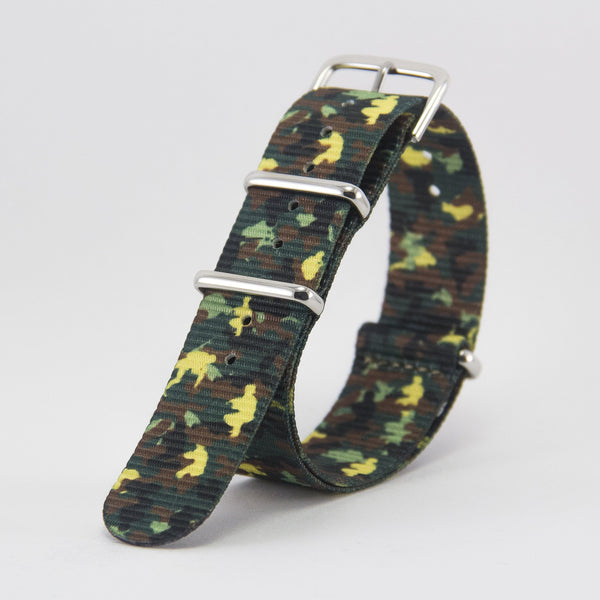 vario camo green nato strap vegan friendly