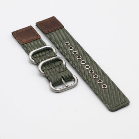 vario cordura oiled leather vintage green