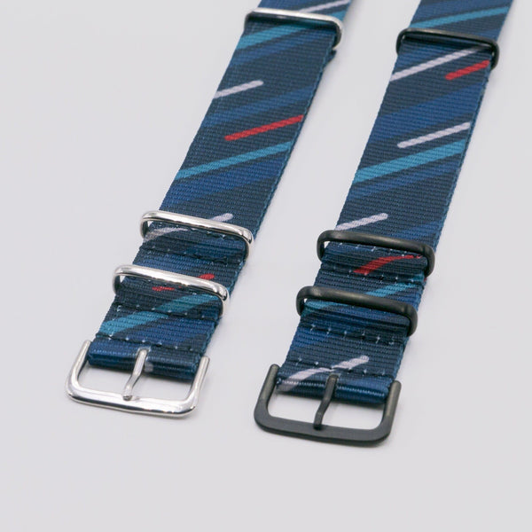 Vario Graphic Nato Midnight Comet nato strap for smartwatch
