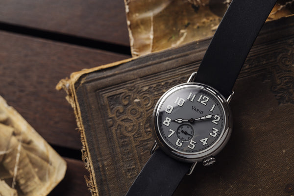 reloj vario ww1 trench 37mm
