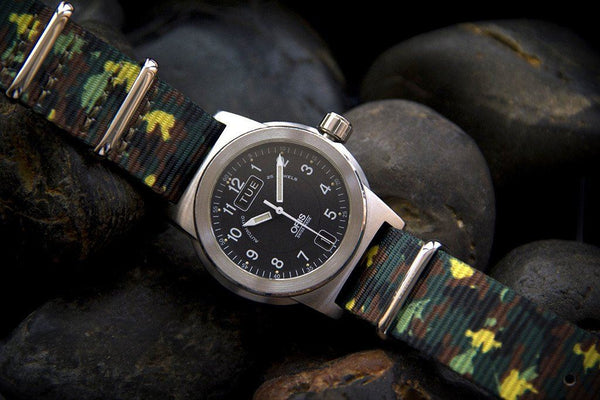 oris watch with vario graphic nato g10 watch strap