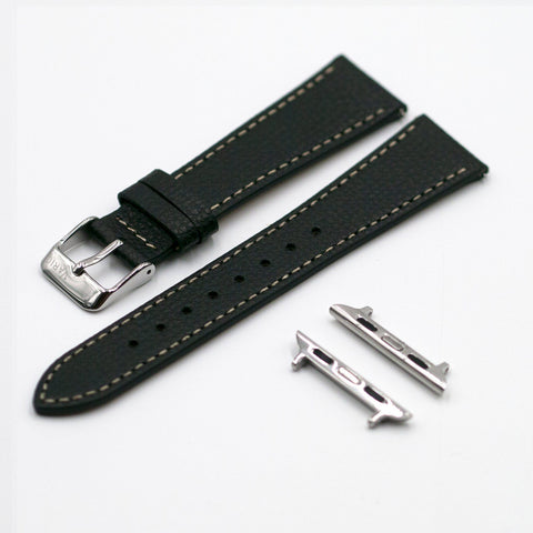 vario italian leather apple watch strap