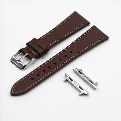 vario italian leather watch strap apple watch