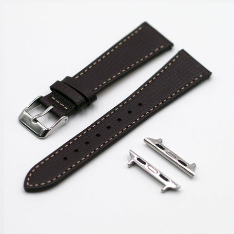 vario italian leather strap apple watch