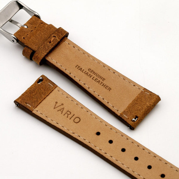 vario italian leather watch band
