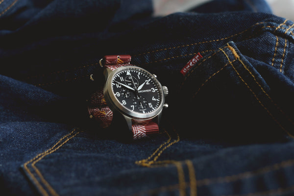archimede watch with vario escher crate watch